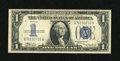 Error Notes:Skewed Reverse Printing, Fr. 1606 Series 1934 $1 Silver Certificate. Very Fine. The reverseon this appealing Funnyback is skewed to the left showing...