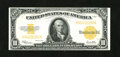 Large Size:Gold Certificates, Fr. 1173 $10 1922 Gold Certificate Very Fine. There are a couple too many folds for a full EF grade. Nonetheless, this note ...