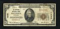 National Bank Notes:Colorado, Berthoud, CO - $20 1929 Ty. 1 The Berthoud NB Ch. # 7995. Officersof this scarce bank are family members Wm. C. and Joh...