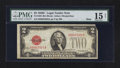 Small Size:Legal Tender Notes, Fr. 1504 $2 1928C Mule Legal Tender Note. PMG Choice Fine 15 Net.. ...