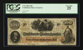 Confederate Notes:1862 Issues, T41 $100 1862 PF-23 Cr. UNL.. ...