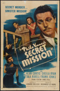 "Movie Posters:Mystery, Philo Vance's Secret Mission (PRC, 1947). One Sheet (27"" X 41"").Mystery.. ..."