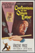 """Movie Posters:Exploitation, Confessions of an Opium Eater (Allied Artists, 1962). One Sheet(27"""" X 41""""). Exploitation.. ..."""