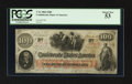 Confederate Notes:1862 Issues, T41 $100 1862 PF-10.. ...