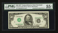 Error Notes:Inverted Third Printings, Fr. 2119-D $50 1977 Federal Reserve Note. PMG About Uncirculated 55EPQ.. ...