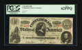 Confederate Notes:1863 Issues, T56 $100 1863 PF-1.. ...