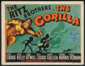 """Movie Posters:Comedy, The Gorilla (20th Century Fox, 1939). Title Lobby Card (11"""" X 14"""").Comedy.. ..."""