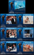 """Movie Posters:James Bond, Licence to Kill (United Artists, 1989). Lobby Cards (7) (11"""" X 14""""). James Bond.. ... (Total: 7 Items)"""