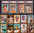 Baseball Cards:Sets, 1962 Topps Baseball Complete Set (601) With Three Variations. ...
