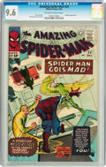 Silver Age (1956-1969):Superhero, The Amazing Spider-Man #24 (Marvel, 1965) CGC NM+ 9.6 Off-white to white pages....