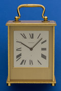 Timepieces:Clocks, Jaeger LeCoultre Eight Day Striking Clock. ...