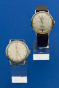 Timepieces:Wristwatch, Two Omega Seamaster Wristwatches. ... (Total: 2 Items)