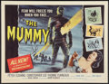 "Movie Posters:Horror, The Mummy (Universal International, 1959). Half Sheet (22"" X 28"").Horror.. ..."