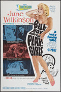 "Movie Posters:Sexploitation, The Bellboy and the Playgirls (Joseph Brenner Associates, 1962). One Sheet (27"" X 41"") 3-D Style. Sexploitation.. ..."