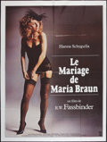 "Movie Posters:Drama, The Marriage of Maria Braun (New Yorker Films, 1979). French Grande(47"" X 63""). Drama.. ..."