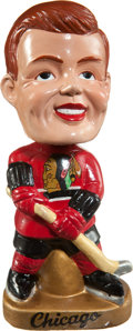 Hockey Collectibles:Others, 1960's Chicago Blackhawks Nodder....