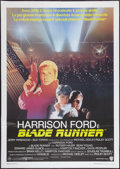 "Movie Posters:Science Fiction, Blade Runner (Warner Brothers Italia, R-late 1980s). Italian 2 -Foglio (39"" X 55""). Science Fiction.. ..."