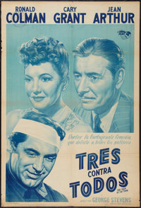 """The Talk of the Town (Orbe Films, 1950s). Argentinean Poster (29"""" X 43""""). Comedy"""