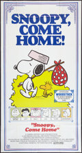 "Movie Posters:Animated, Snoopy, Come Home! (National General, 1972). Three Sheet (41"" X76.5""). Animated.. ..."
