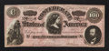 Confederate Notes:1864 Issues, CT65/491 Counterfeit $100 1864.. ...