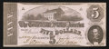 Confederate Notes:1862 Issues, T53 $5 1862 PF-13.. ...