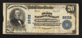 National Bank Notes:Colorado, Fort Collins, CO - $20 1902 Plain Back Fr. 660 The First NB Ch. #2622. ...