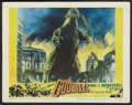 "Movie Posters:Science Fiction, Godzilla (Trans World, 1956). Lobby Card (11"" X 14""). ScienceFiction.. ..."