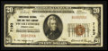 National Bank Notes:Pennsylvania, Swarthmore, PA - $20 1929 Ty. 1 The Swarthmore NB & TC Ch. #7193. ...