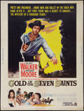 "Movie Posters:Adventure, Gold of the Seven Saints (Warner Brothers, 1961). Poster (30"" X40""). Adventure.. ..."