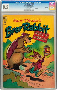 Four Color #208 Brer Rabbit Does It Again! - File Copy (Dell, 1949) CGC VF+ 8.5 Off-white pages