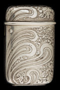 Silver Smalls:Match Safes, A TIFFANY SILVER MATCH SAFE. Tiffany & Co., New York, New York,circa 1888. Marks: TIFFANY & CO., STERLING, 9888M7792,17...