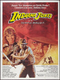 "Movie Posters:Adventure, Indiana Jones and the Temple of Doom (Paramount, 1984). FrenchGrande (47"" X 63""). Adventure.. ..."