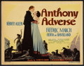 "Movie Posters:Adventure, Anthony Adverse (Warner Brothers, 1936). Title Lobby Card (11"" X14""). Adventure.. ..."