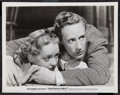 """Movie Posters:Crime, Bette Davis and Leslie Howard in The Petrified Forest (WarnerBrothers, 1936). Portrait Photo (8"""" X 10""""). Drama.. ..."""
