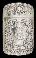 Silver Smalls:Match Safes, A TIFFANY & CO. SILVER AND SILVER GILT MATCH SAFE . Tiffany& Co., New York, New York, circa 1900. Marks: TIFFANY &CO., S...