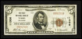 National Bank Notes:Oklahoma, Nash, OK - $5 1929 Ty. 1 The First NB Ch. # 11306. ...