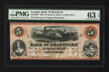 Canadian Currency: , Sault St. Marie, CW- Bank of Brantford $5 Nov. 1, 1859 Ch. #40-12-08R. ...