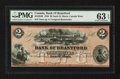Canadian Currency: , Sault St. Marie, CW- Bank of Brantford $2 Nov. 1, 1859 Ch. #40-12-04R. ...
