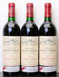 Red Bordeaux, Chateau Grand Mayne 1989 . St. Emilion. 1lbsl. Bottle (3).... (Total: 3 Btls. )