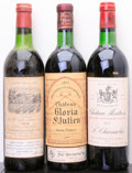 Red Bordeaux, Chateau Duhart Milon . 1973 Pauillac vhs, hbsl, cc Bottle(1). Chateau Gloria . 1973 St. Julien ts, bsl,... (Total: 3Btls. )