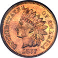Proof Indian Cents, 1877 1C PR65 Red and Brown NGC. CAC....