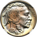Buffalo Nickels, 1934 5C MS67+ ★ NGC. CAC....