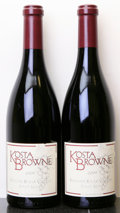 Domestic Pinot Noir, Kosta Browne Pinot Noir 2009 . Russian River Valley. Bottle(2). ... (Total: 2 Btls. )