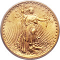 Saint-Gaudens Double Eagles, 1920-S $20 AU58+ PCGS. CAC....