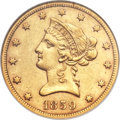 Liberty Eagles, 1859-S $10 AU53 NGC....