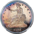Proof Trade Dollars, 1878 T$1 PR66 ★ Cameo NGC....