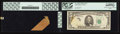 Error Notes:Major Errors, Fr. 1978-F $5 1985 Federal Reserve Note. PCGS Very Choice New64PPQ.. ... (Total: 2 items)
