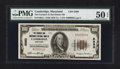 National Bank Notes:Maryland, Cambridge, MD - $100 1929 Ty. 1 The Farmers & Merchants NB Ch.# 5880. ...
