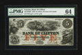 Canadian Currency: , Clifton, PC- Bank of Clifton $5 Oct. 1, 1859 Ch. # 125-10-04-06. ...