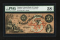 Canadian Currency: , Toronto, CW- Colonial Bank of Canada $5 May 4, 1859 Ch. #130-10-04-10. ...